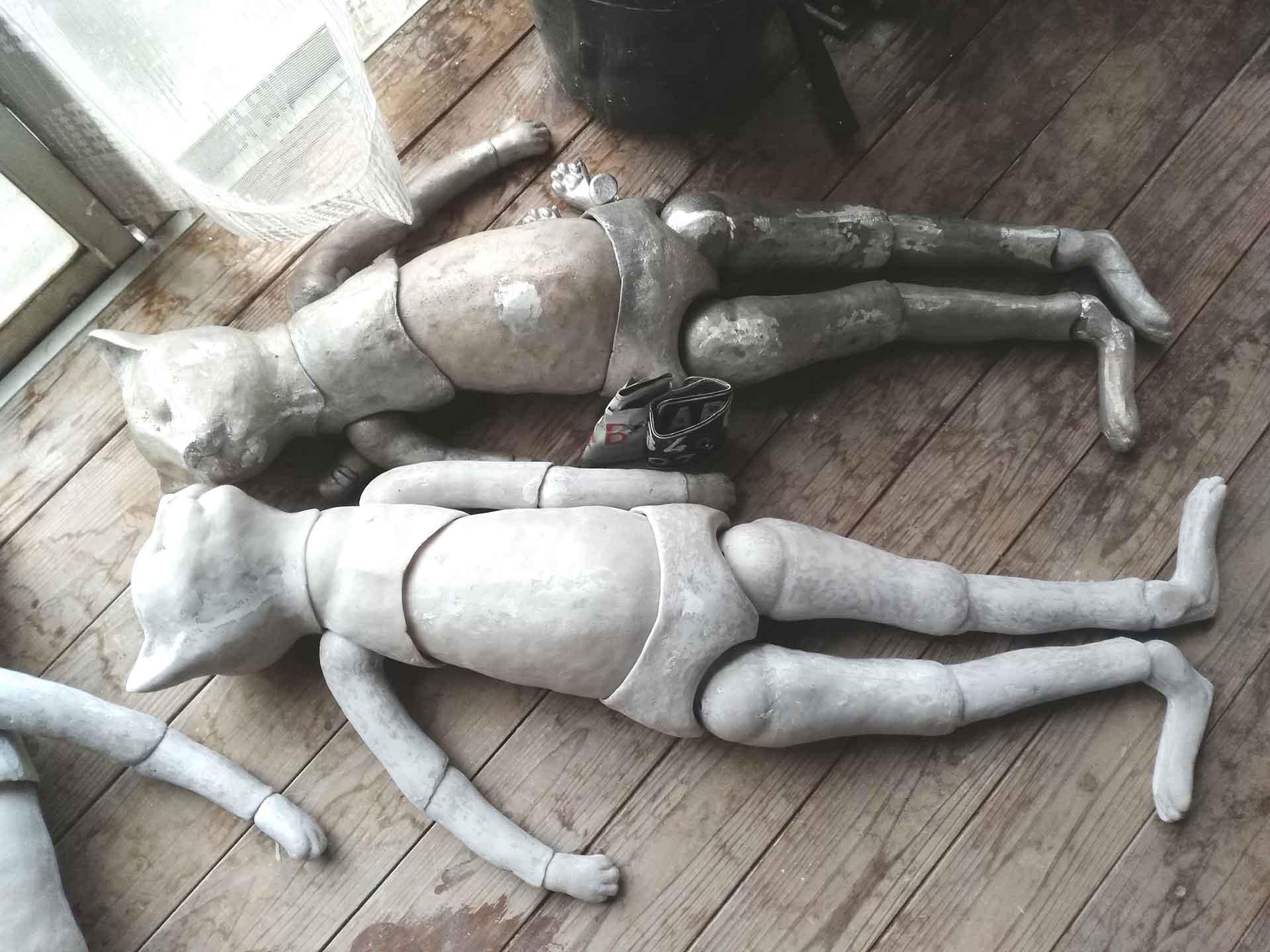 梶浦聖子 メイキング展「きのうおばあちゃんも生まれたって」